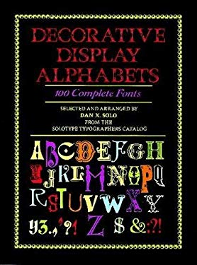 Decorative Display Alphabets 9780486263403