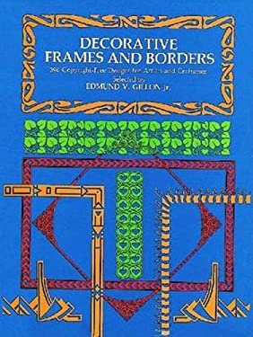 Decorative Frames and Borders 9780486229287