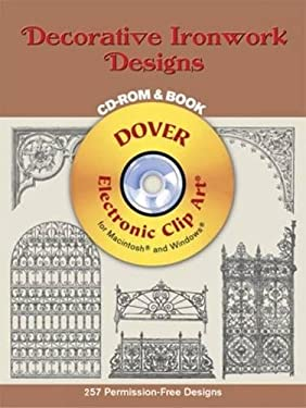 Decorative Ironwork Designs [With CD_Rom] 9780486995823