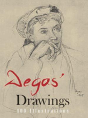 Degas' Drawings 9780486212333