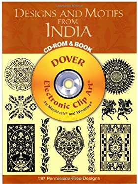 Designs and Motifs from India [With CD-ROM for Macintosh and Windows] 9780486996288