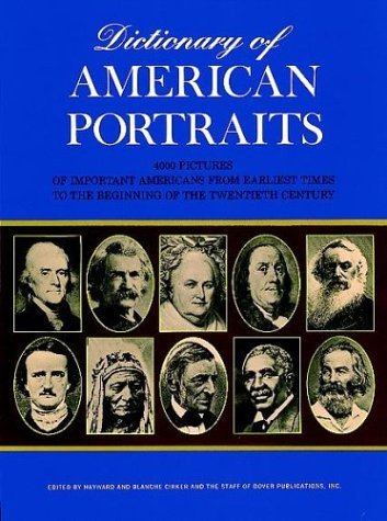 Dictionary of American Portraits 9780486218236