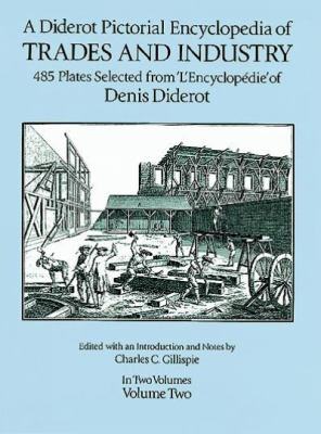 Diderot Pictorial Encyclopedia of Trades and Industry, Vol. 2 9780486274294