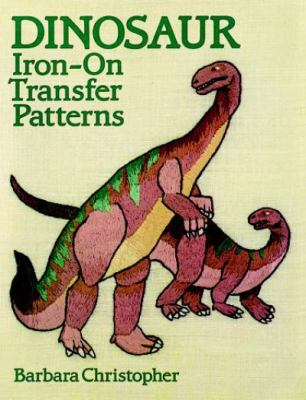 Dinosaur Iron-On Transfer Patterns 9780486257662