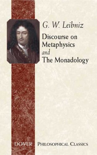 Discourse on Metaphysics and the Monadology 9780486443102