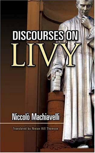 Discourses on Livy 9780486461892