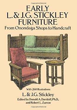 Early L. & J. G. Stickley Furniture: From Onondaga Shops to Handcraft 9780486269269