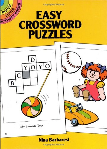 Easy Crossword Puzzles 9780486261287