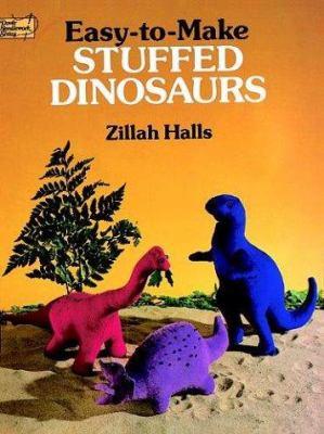 Easy-To-Make Stuffed Dinosaurs 9780486258485