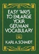 Easy Ways to Enlarge Your German Vocabulary 9780486230443