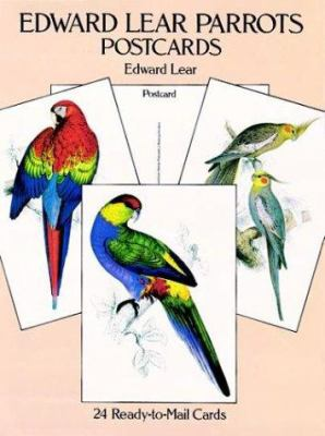Edward Lear Parrots Postcards: 24 Ready-To-Mail Cards 9780486285030