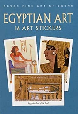 Egyptian Art Stickers: 16 Art Stickers 9780486413549