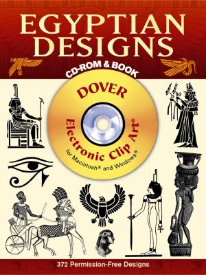 Egyptian Designs CD-ROM and Book [With CDROM] 9780486999586