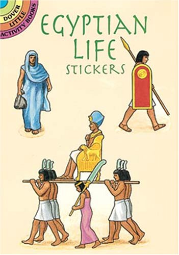 Egyptian Life Stickers 9780486299693