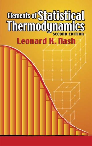 Elements of Statistical Thermodynamics 9780486449784