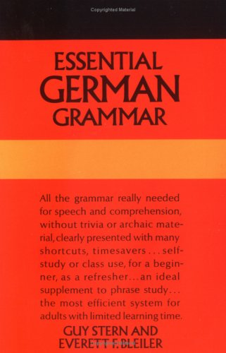 Essential German Grammar 9780486204222