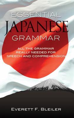 Essential Japanese Grammar 9780486210278