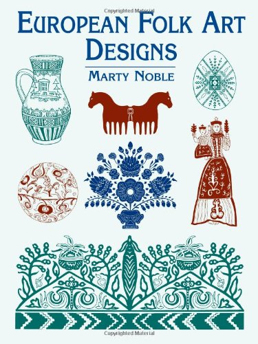 European Folk Art Designs 9780486437576