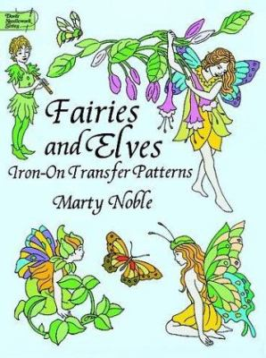 Fairies and Elves Iron-On Transfer Patterns