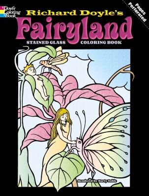 Fairyland Stained Glass Coloring Book 9780486430492
