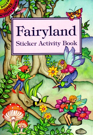 Fairyland Sticker Activity Book 9780486400518