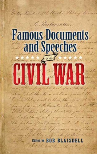 Famous Documents & Speeches of the Civil War 9780486448510