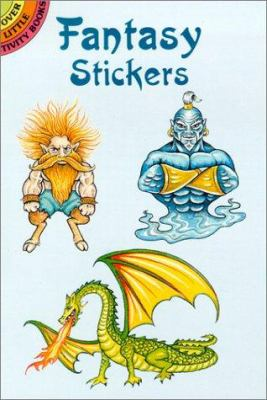 Fantasy Stickers 9780486418308