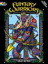 Fantasy Warriors Stained Glass Coloring Book 1605893