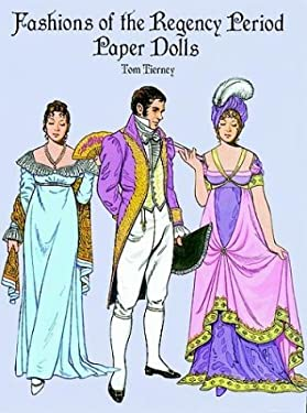 Fashions of the Regency Period Paper Dolls 9780486293356