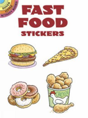 Fast Food Stickers 9780486433073
