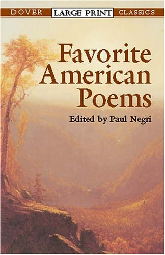 Favorite American Poems 9780486422527