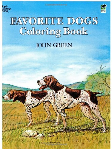 Favorite Dogs Coloring Book 9780486245522