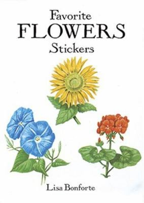 Favorite Flowers Stickers 9780486294162