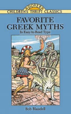Favorite Greek Myths 9780486288598