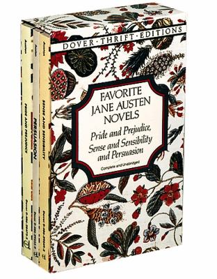 Favorite Jane Austen Novels: Pride and Prejudice, Sense and Sensibility and Persuasion (Complete and Unabridged) 9780486297484