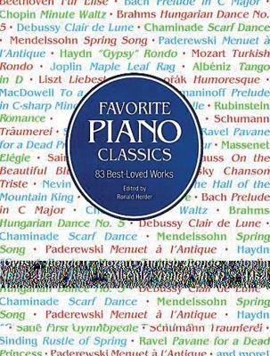 Favorite Piano Classics 9780486291529