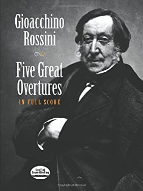 Five Great Overtures in Full Score 9780486408583