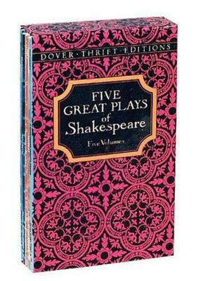 Five Great Plays of Shakespeare 9780486278926