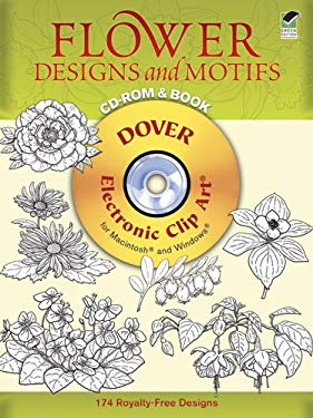 Flower Designs and Motifs [With CDROM] 9780486996653