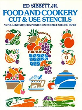 Food & Cookery Cut & Use Stencils 9780486246277