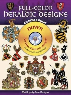 Full-Color Heraldic Designs [With CDROM]