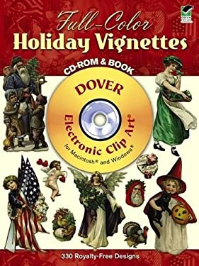 Full-Color Holiday Vignettes CD-ROM and Book [With CDROM] 9780486995069