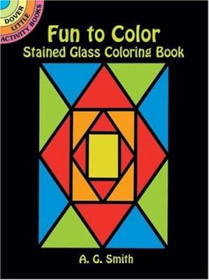 Fun to Color Stained Glass Coloring Book 9780486434520