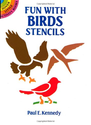 Fun with Birds Stencils 9780486266060