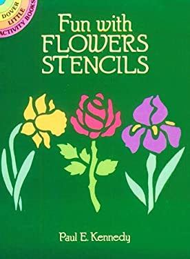 Fun with Flowers Stencils 9780486259062