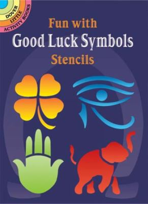 Fun with Good Luck Symbols Stencils 9780486436920