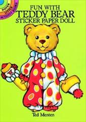 Fun with Teddy Bear Sticker Paper Doll