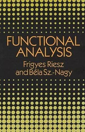 Functional Analysis 9780486662893