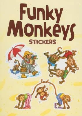 Funky Monkeys Stickers 9780486471259