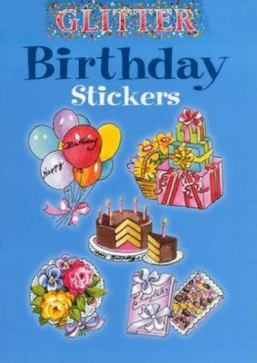 Glitter Birthday Stickers 9780486439396